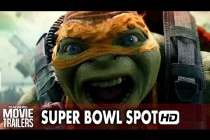 Embedded thumbnail for Teenage Mutant Ninja Turtles: Out of the Shadows 'Big Game' Super Bowl Spot