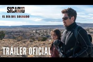 Embedded thumbnail for TRAILER SICARIO: EL DÍA DEL SOLDADO