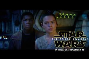Embedded thumbnail for Star Wars: The Force Awakens Trailer
